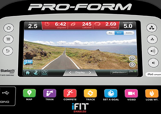 proform endurance 920 elliptical console