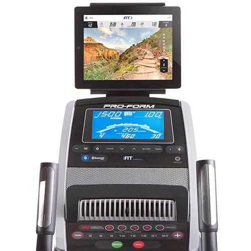 proform CardioHiit Trainer console