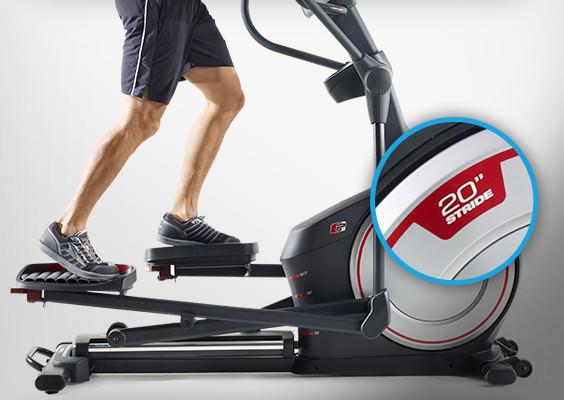 proform 720e elliptical review - stride