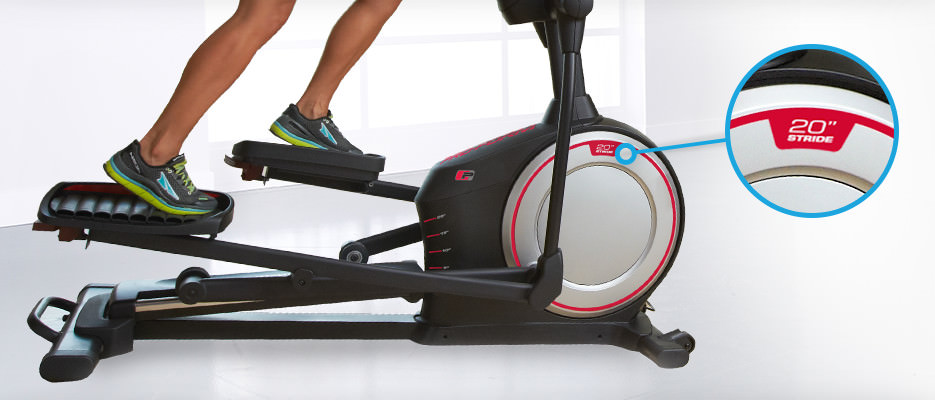proform 920e elliptical stride