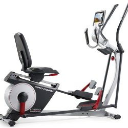 proform elliptical bike review