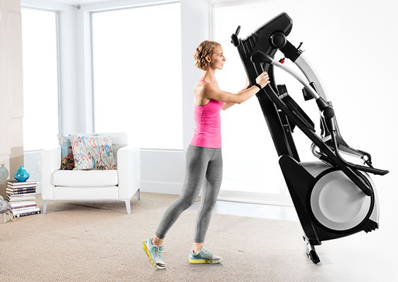 proform smart strider 495 folding elliptical review