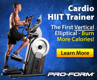 proform cardio hiit trainer video