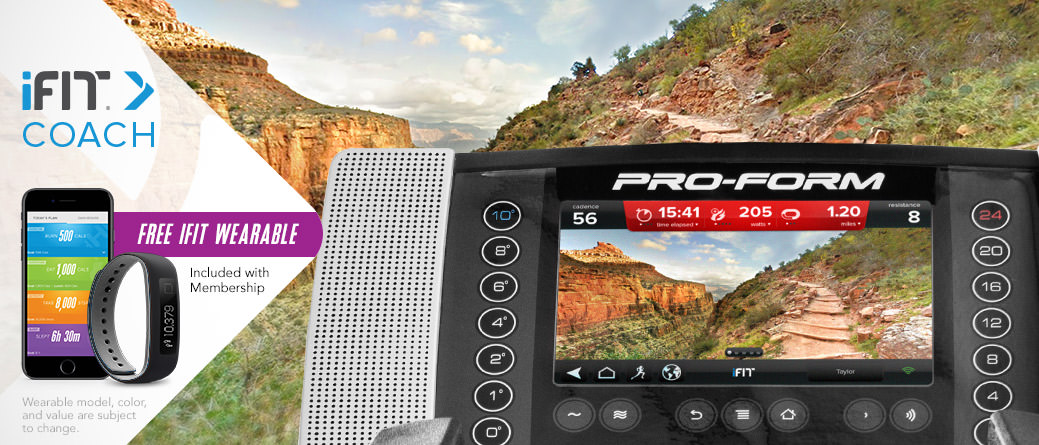 proform smart strider 895 elliptical review with ifit live